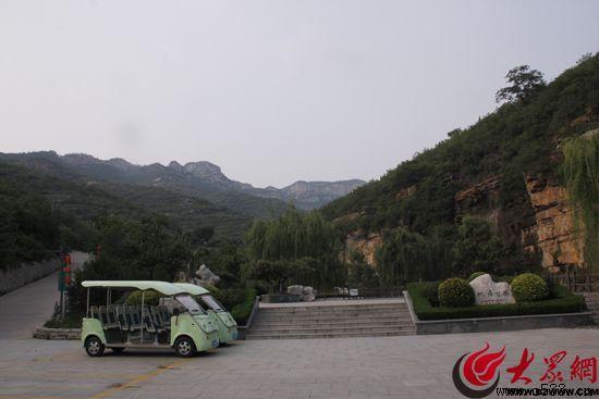 淄博潭溪山风景区 梦泉生态旅游区齐长城主要分布在高山峭壁上,长约